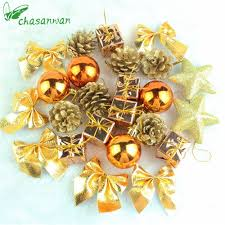 Decorations For Home Cheap Online Get Cheap Bronze Christmas Decorations Aliexpress Com