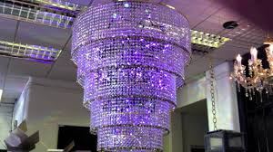 chandelier youtube led colour changing chandelier youtube