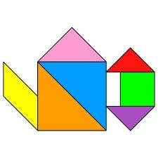 tangram puzzle 45 best tangram images on puzzles maths and labyrinths