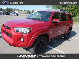 2016 used toyota 4runner 4wd 4dr v6 sr5 at landers ford serving