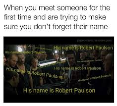 Meme Name - his name is robert paulson memebase funny memes