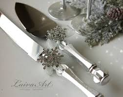 wedding cake cutting set wedding cake server etsy