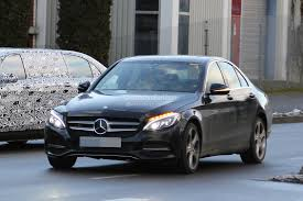 lifted mercedes sedan 2018 mercedes c class facelift interior spyshots s class digital