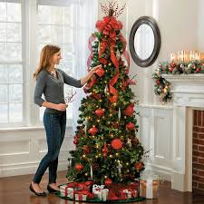 pre lit noble pine pull up tree 6 1 2 improvements