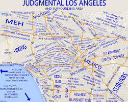 san francisco judgmental map 10 maps of los angeles the bold italic san francisco