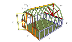 Green House Plans Barn Greenhouse Plans Howtospecialist How To Build Step By