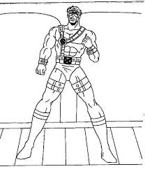 cyclops coloring pages funycoloring