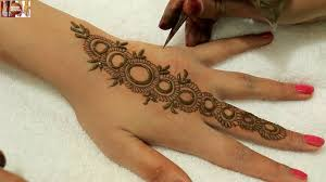 easy stylist circular mehndi designs for hands beautiful heena on
