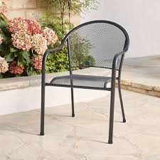 Patio Stack Chairs Member S Stackable Mesh Chair Sam S Club