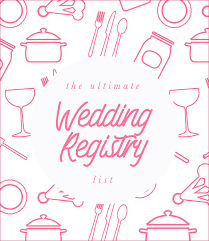 wedding gift registry list ultimate wedding registry list philippines wedding