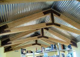 ideas corrugated tin ceiling corrugated metal ceilings