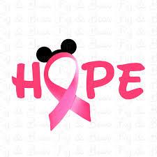 mickey ribbon disney breast cancer awareness pink ribbon mickey mouse t