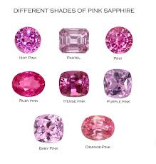 Purple Shades by Wholesale Pink Sapphire Gemstones From Our Gems Factory