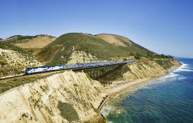 Amtrak Map East Coast Take The Slow Train Down The West Coast