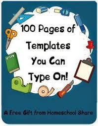 100 editable lapbook templates free diyhomeschooler