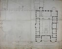 plan of lyme hall with alterations dated january 1814 4104 3216