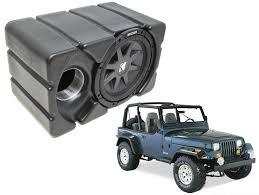 jeep wrangler kicker cvr10 loaded car stereo custom fit 10