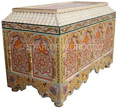 moroccan inspired chest