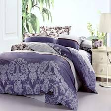 Cannon Bedding Sets Blue And White Baroque Style Vintage Indian Pattern 100