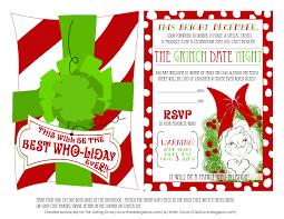 Christmas Invite Cards Grinch Christmas Card Christmas Lights Decoration