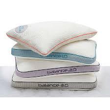 bed gear pillow bedgear balance pillow collection sleep accessories mattresses