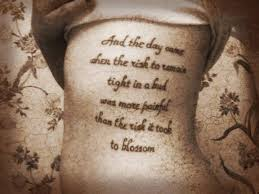 Tattoos Of Sayings And - kaji small quotes