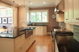 kitchen island with sink great white kitchen cabinet system feat rectangle kitchen