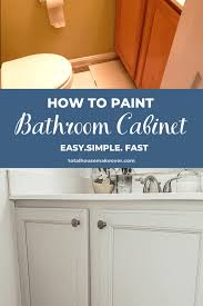 how to paint cabinets fast how to paint bathroom cabinets the beginners guide total