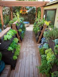 Deck Garden Ideas Deck Container Garden Ideas Design Outdoor Spaces Newest Small