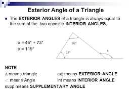 The Interior Angles Of A Triangle Always Add Up To Chapter 21 Triangles Types Of Triangles Triangles With Three