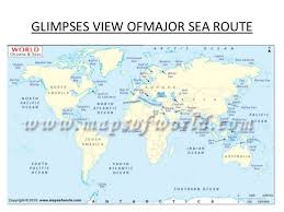 map world seas world sea routes details part 01
