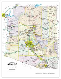 University Of Arizona Map by Maps Map Arizona