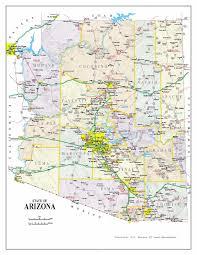 University Of Arizona Map Maps Map Arizona
