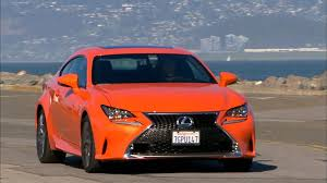 lexus is f sport coupe 2015 lexus rc 350 f sport review roadshow
