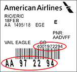 United Airlines Baggage Receipt American Airlines Airline Tickets And Cheap Flights At Aa Com