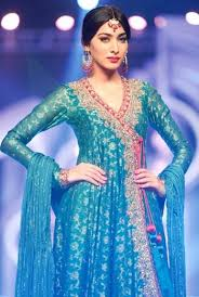 wedding dress in pakistan sky color wedding bridal couture dress adworks pk