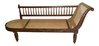 British West Indies Style Vintage West Indies Plantation Cane Chaise Lounge Chairish