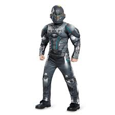 Spartan Halloween Costumes Halo Spartan Locke Classic Muscle Child Costume Buycostumes