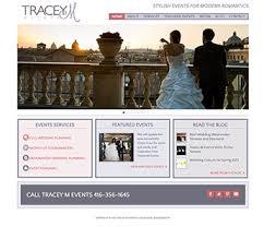 wedding planner website wedding coordinator event planner website design