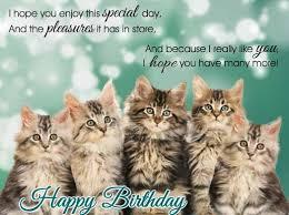 singing birthday kitties free happy birthday ecards greeting