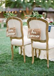 wedding chair signs 30 awesome wedding sign decor ideas for groom chairs