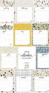 printable calendars free 2018 calendar free printable this little street this little