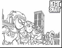 awesome teen titans coloring pages 31 about remodel coloring books