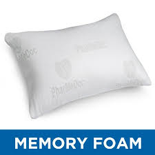 bed pillows for side sleepers pharmedoc shredded memory foam pillow w washable case bed pillow