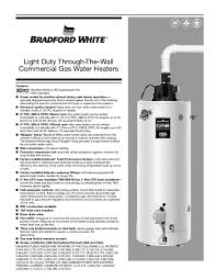 water heater users guides water heater page 121