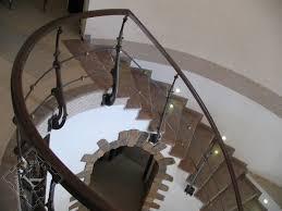staircase iron and steel railings blacksmith kristan