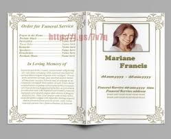sle funeral program template pretty funeral phlet template word ideas entry level resume