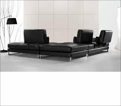 Black Microfiber Sectional Sofa Living Room Black Microfiber Sectional Black And Tan Sectional