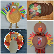 here are thanksgiving paper plate crafts for to make find