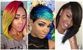 hairstyles for medium length hair for african american 2017 edgy haircuts for black u0026 african american women youtube